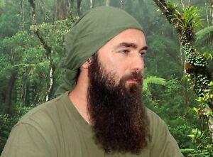Genuine-Swedish-Army-Bandana-Large-Olive-Green-Military-Neckerchief-Rag-Scarf