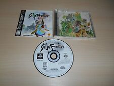 Saga Frontier 1 Complete PS1 Playstation 1 CIB Black Label Game