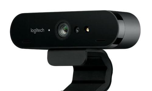 Logitech 4K Ultra HD Pro Brio Video Conferencing Webcam 5x Zoom for PC /& Mac