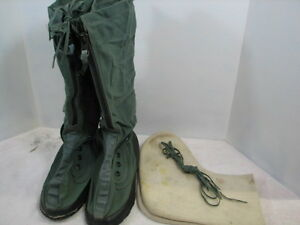 236d22da036 Details about US MILITARY ISSUE EXTREME COLD WEATHER BOOTS MUKLUKS N-1B  MEDIUM