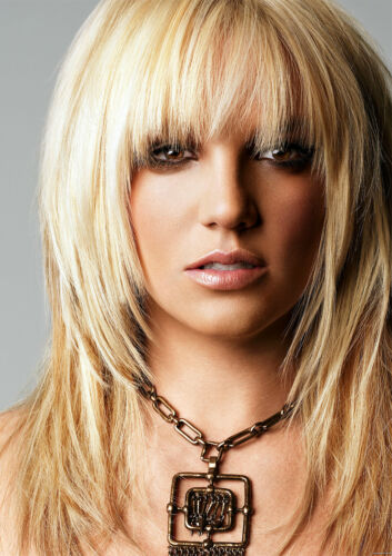 FREE P+P CHOOSE YOUR SIZE Britney Spears Poster Piece Of Me 2018 Music Tour NEW