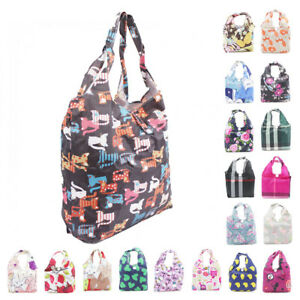 Womens-Foldable-Large-Tote-Hobo-Handbag-Shopper-Shoulder-Reusable-Grocery-Bag