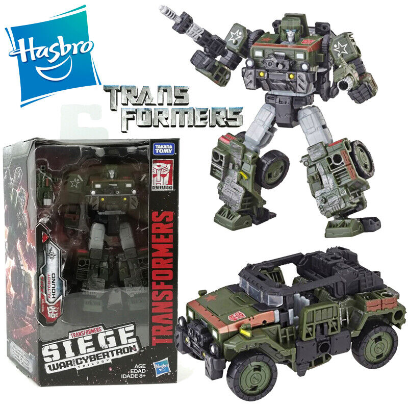 TRANSFORMERS GENERATIONS AUTOBOT HOUND SIEGE WAR OF CYBERTRON DELUXE FIGURE TOY