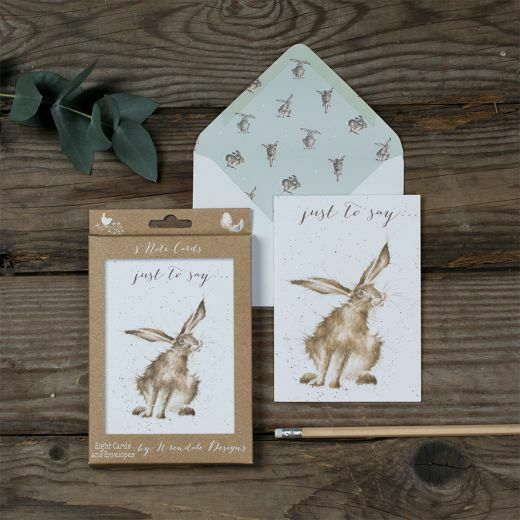 Wrendale Designs - 'Just to say' Notelet Set