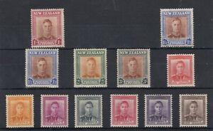 New-Zealand-KGVI-1938-Part-Set-To-3-Mint-MLH-J7307