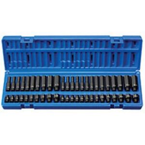 48-Piece Cooper Tools GEARWRENCH 84902 1//4-Inch Drive Impact Socket Set SAE//Metric