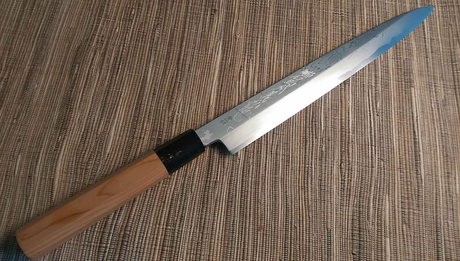 Sakai japonais couteaux de cuisine  Yoshihiro Damas SUMINAGASHI  Yanagi couteau