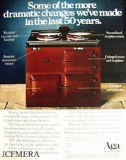 Vintage 'AGA' Cooker Range Advert - Original 1981 Print AD