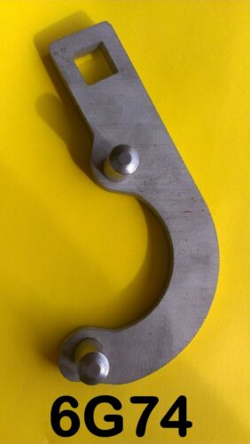 Montero Pajero 6G74 Crankshaft Pulley Removal Tool MB990767 HARDENED PINS!