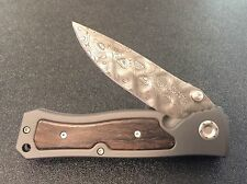 Boker Leo Leopard Damascus II Forge Knife with Ziracote Inlays 111054DAM New