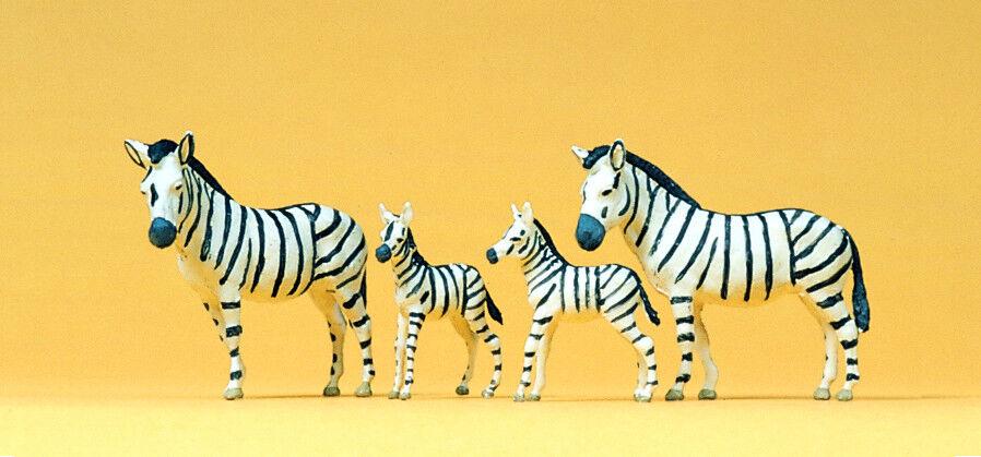 Preiser 20387 Zebras für H0 Zoo und Circustiere