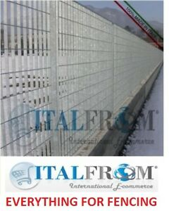 Fence-panel-railing-grill-galvanized-iron-various-heights