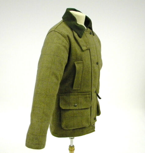 Imbottita 10 Militare 14 Cappotto Tweed 20 Donna Tessuto 18 12 8 16 Verde Giacca x8fqxpIC