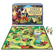 UNCLE WIGGILY vtg Childrens classic book wiggly Rabbit Board Game NEW/Sealed
