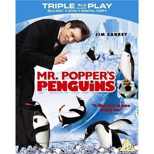 1 of 1 - MR POPPER'S PENGUINS*****BLU-RAY******REGION B*****NEW & SEALED