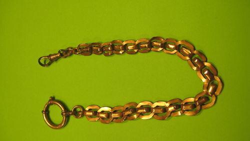 Style ancien Chaîne de montre Taschenuhr kettenuhr poche double