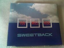 SWEETBACK - YOU WILL RISE - 7 MIX UK CD SINGLE