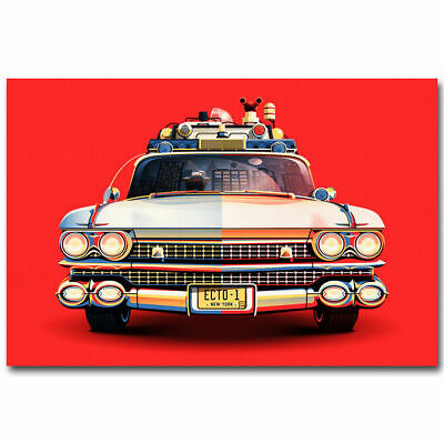 Art Print W482 Ghostbusters Car New Movie Hot Poster 36 27x40in