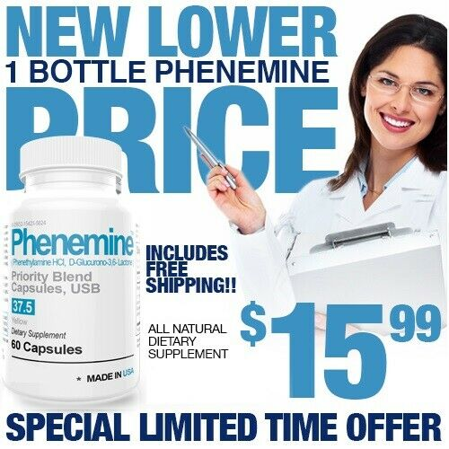 1 Phenemine 37.5 The Most Advanced Best Suppressant Weight Loss Diet Pills 375