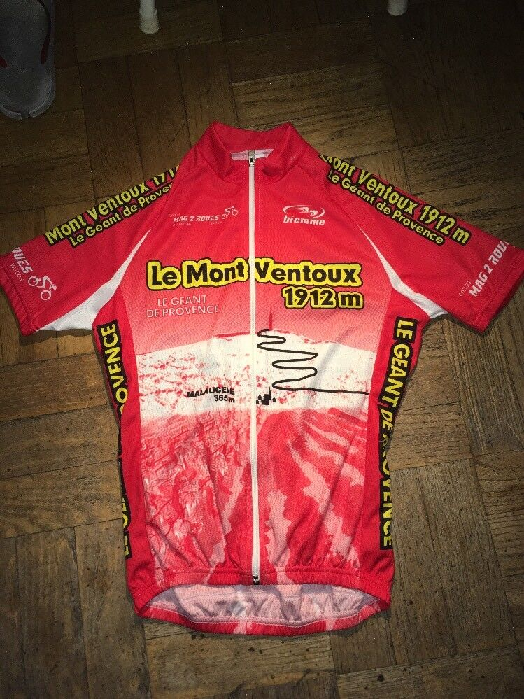 Biemne Le Mont Ventoux Cycling Jersey Mens Small Full Zip