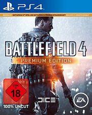 PS4 Battlefield 4 Premium Edtion Gebraucht + Neuen Downloadcode PS4