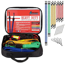 889mm Flat Bungee Cord Silverline Tools