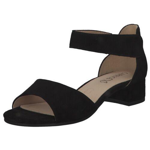 Caprice Damen Sandalen Pantoletten Sommer 9-9-28212-24//004 Schwarz Black Neu