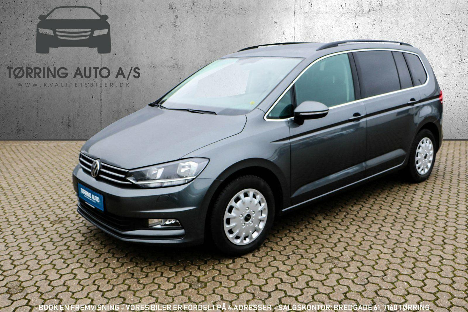 VW Touran 1,4 TSi 150 Comfortline DSG BMT 7p 5d - 304.900 kr.