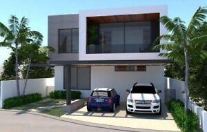 Casa en venta con recamara en planta baja en Parque Natura Merida