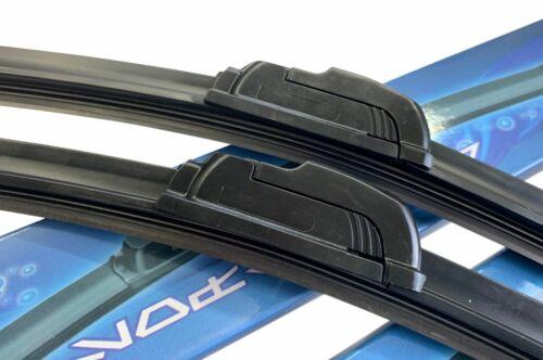 2x SOFT FLAT Scheibenwischer 530//530mm für VW Bora Variant bis 04//2002