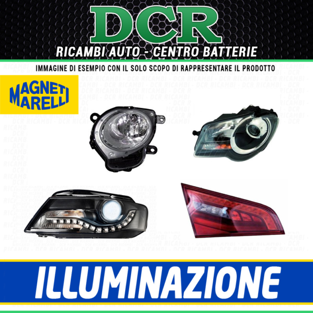Luce posteriore Sx MAGNETI MARELLI LLL592 DUCATI MOTORCYCLES MERCEDES