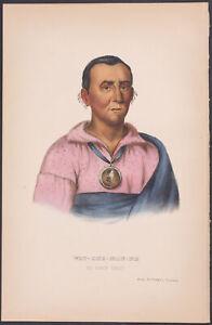 McKenney & Hall - Wat-Che-Mon-Ne. 91 - 1870 History of the ...
