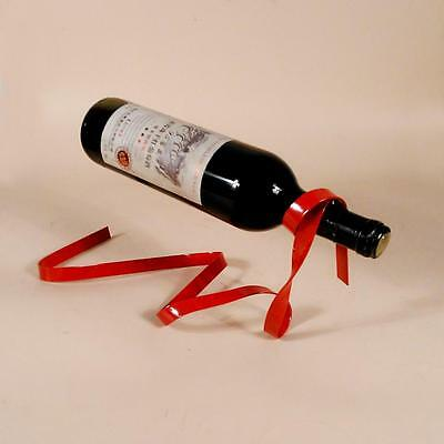 Handmade Magic Floating Lasso Plating Process Wine Bottle Holder Stand Home Deco
