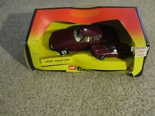 Die-Cast Corgi Jaguar XJS #1405 2 Car Set Maroon 1983 Nice With Box See My Store
