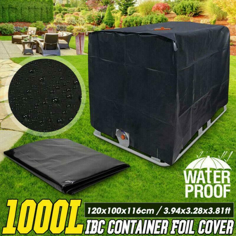 1000L Container Aluminum Foil Waterproof Dustproof Cover water Tank Cover