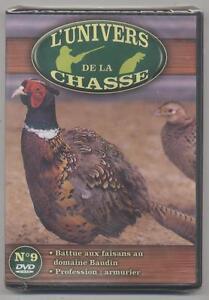 NEUF-DVD-L-UNIVERS-DE-LA-CHASSE-N-9-BATTUE-AUX-FAISANS-PROFESSION-ARMURIER