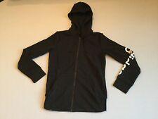 3e6f11d3c4756 Adidas Women s Logo On Arm Full Zip Up Hoodie Jacket Black White S97076  Size L