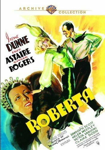 Roberta (1935 Irene Dunne Fred Astaire) DVD NEW