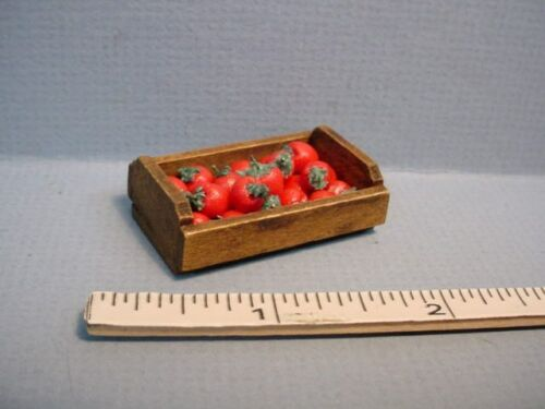 Miniature Tomatoes 24 /& Crate #BF031-1//12th Scale