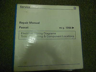 1998 1999 2000 2001 vw passat electrical wiring diagram service repair  manual  ebay
