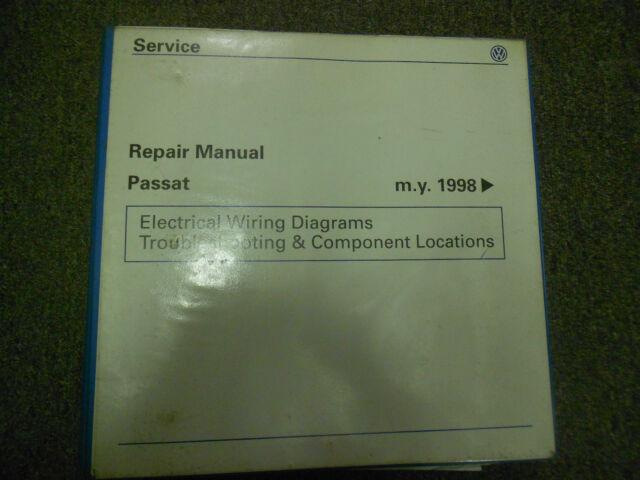 1998 1999 2000 2001 Vw Passat Electrical Wiring Diagram