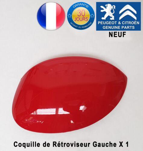Citroen C3 I Xsara Picasso Coquille de rétroviseur gauche Rouge Pieces d/'origine