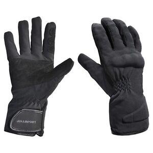 Guante-Tejido-Moto-Scooter-Invernal-Acolchado-Impermeable-Protecciones-Nudillos