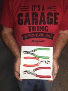 """Cutter 7/"""" Snap On PWCS7CF Orange Wire Striper Crimper New"""