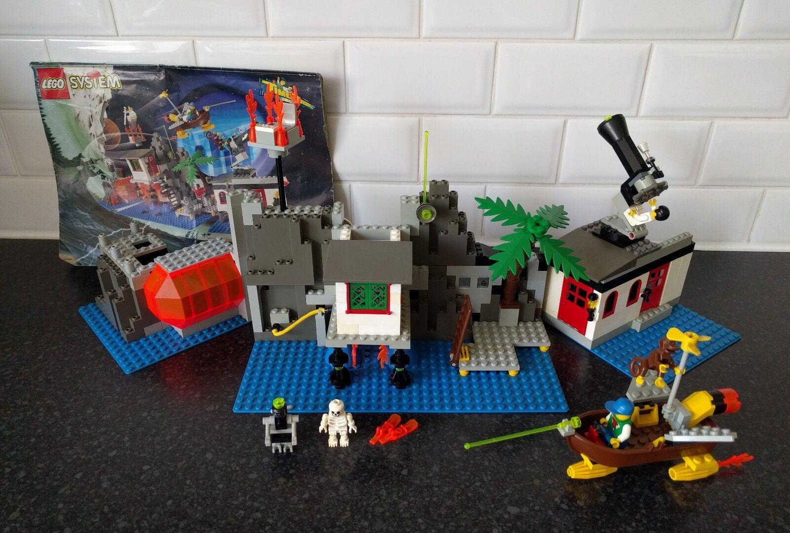 Lego Time Cruisers 6494 Magic Mountain Time Lab (plus extra figures)