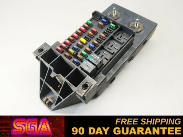 1997-1998 FORD F150 INTERIOR DASH FUSE BOX RELAY F65B ...