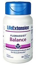 TWO BOTTLES $19.38 Life Extension FLORASSIST Balance probiotic digestion