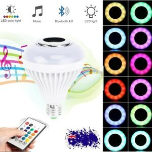 E27-RGB-Bluetooth-LED-Smart-Music-Audio-Speaker-Globe-Bulb-Light-Lamp-Control-AU