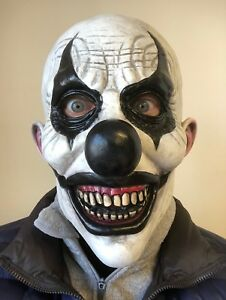 image is loading scary killer clown mask bald head latex full