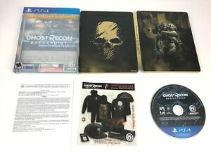 Tom Clancy's Ghost Recon Breakpoint Gold Edition for PS4 Playstation 4 Steelbook